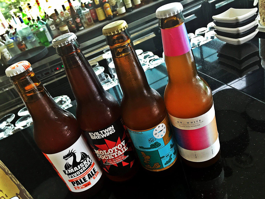 Craft beers in Zagreb